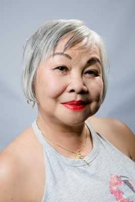 Goede kapper Amsterdam Asian grey hair